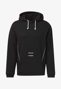 adidas Originals - HOODIE - Hoodie - black - 7