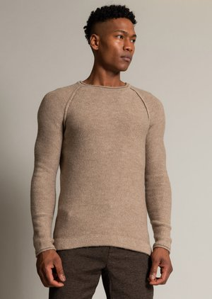 212-YELSH - Jumper - taupe