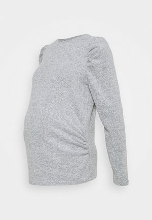 SUSTAINABLE SOFT TOUCH JUMPER - Jumper - grey marl