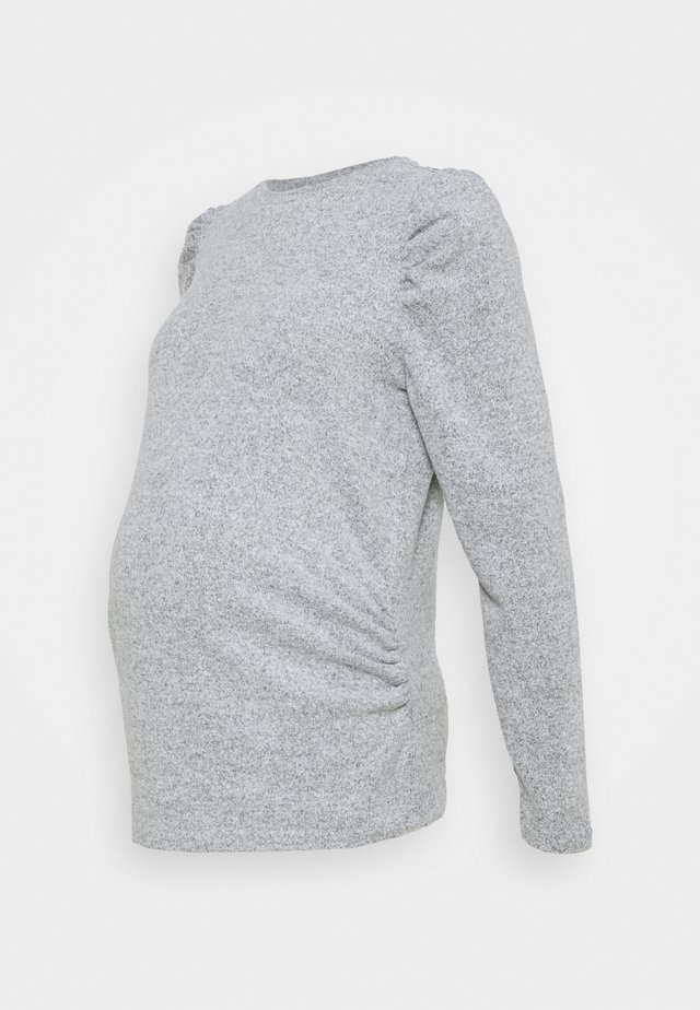 SUSTAINABLE SOFT TOUCH JUMPER - Neule - grey marl