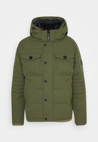 Tommy Hilfiger - REMOVABLE HOODED BOMBER - Winterjacke - green - 4