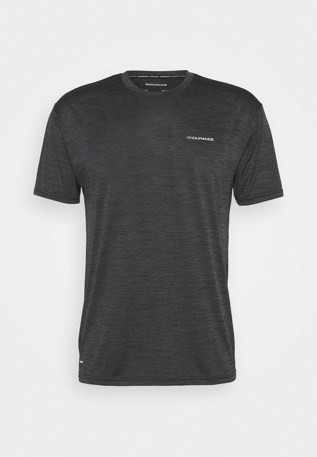 MIT EIGENSCHAFT - T-shirt basique - black