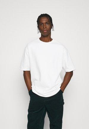 SHORT SLEEVE OVERSIZED - Sweatshirt - white