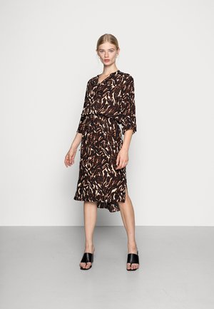 ZAYA DRESS - Day dress - dark tricolore