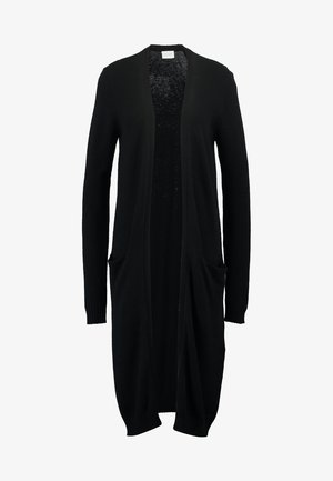 VIRIL LONG CARDIGAN - Neuletakki - black