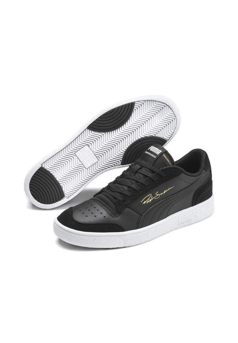 Puma RALPH SAMPSON LO VINTAGE - Baskets basses - black-white/noir ...