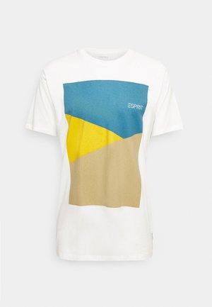 PEACH - Printtipaita - off white