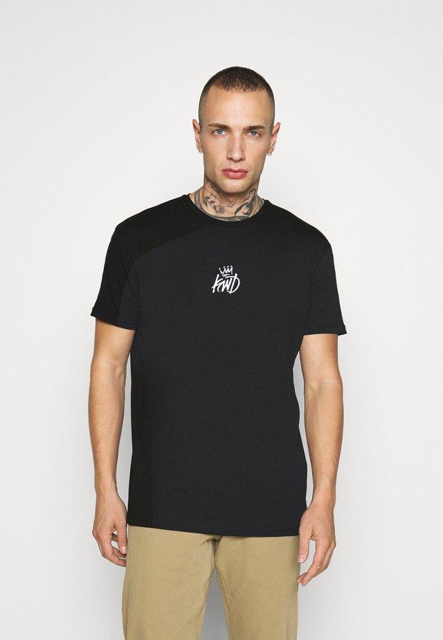 NARCA TEE - T-shirts med print - black