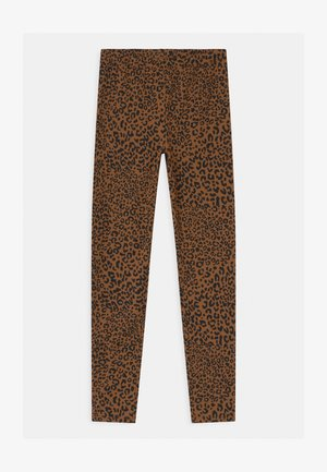 GIRLS - Leggings - Trousers - brown