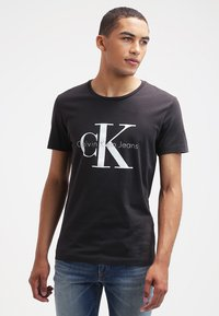 Calvin Klein Jeans - Print T-shirt - meteorite - 0