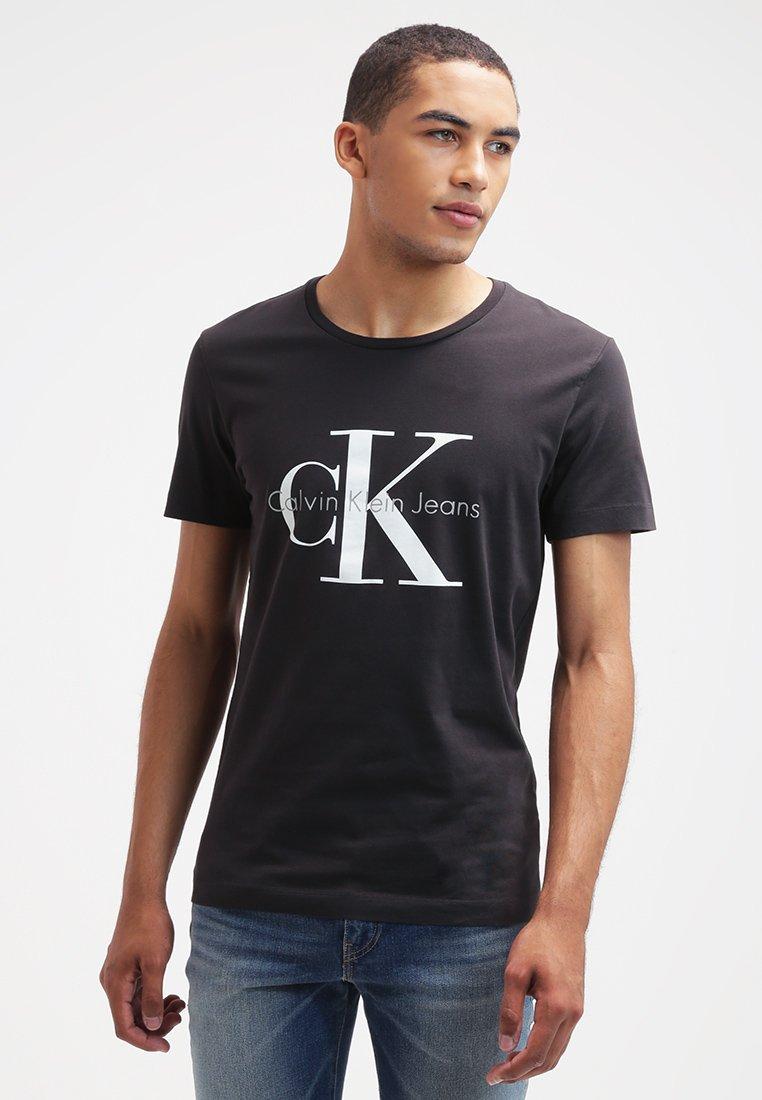 Calvin Klein Jeans - Print T-shirt - meteorite