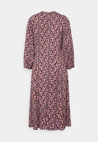 Moss Copenhagen - KAROLA RAYE DRESS - Shirt dress - black/lavender - 6