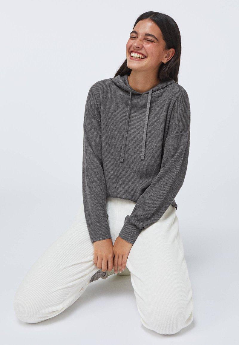 OYSHO - Hoodie - dark grey