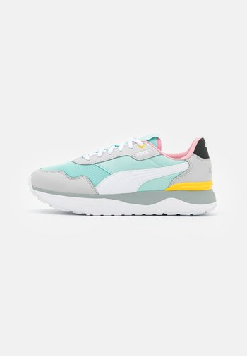 R78 VOYAGE - Trainers - eggshell blue/white/gray violet