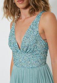 BEAUUT - EMBELLISHED SEQUINS  - Cocktail dress / Party dress - mint - 4