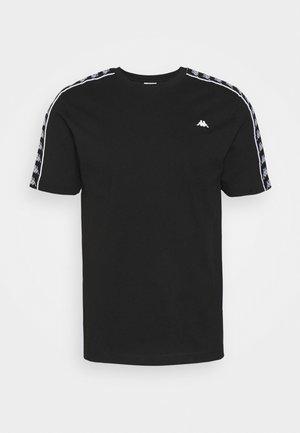HANNO TEE - Print T-shirt - caviar