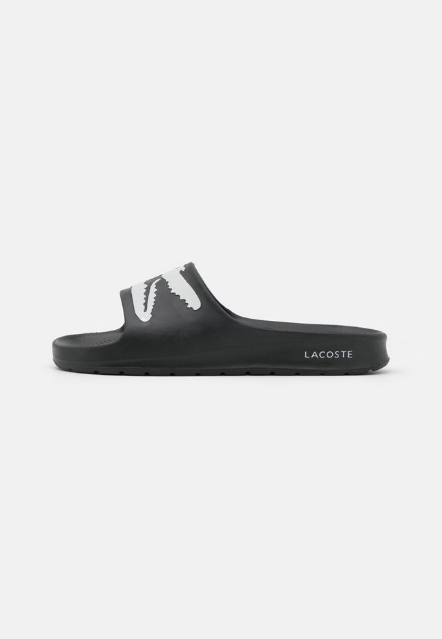 CROCO  - Pantofle - black/white
