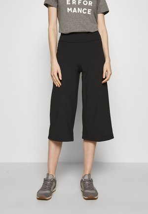 STEM GEM ROCK CROPS - Pantalon 3/4 de sport - black