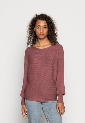 ONLADALINE LIFE SHORT - Jumper - rose brown