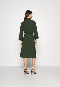 Monki - ANDIE DRESS - Day dress - dark green - 2
