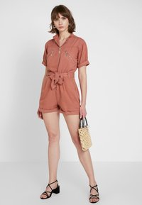 Topshop - UTILITY - Overal - coral - 1