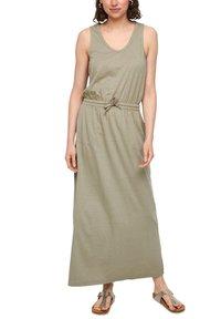 s.Oliver - Maxi dress - summer khaki - 5