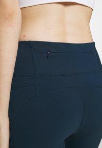Sweaty Betty - POWER WORKOUT 7/8 LEGGINGS - Leggings - beetle blue - 6
