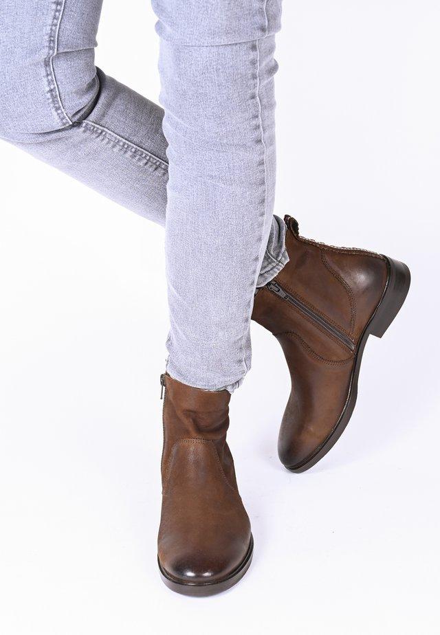 ALLEGRA - Ankle boots - braun