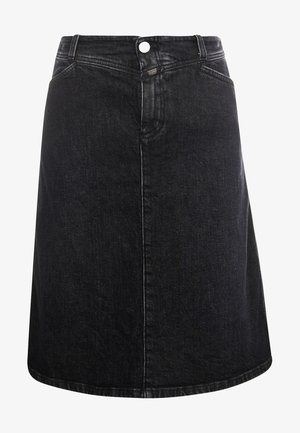ROBINA - A-line skirt - dark grey
