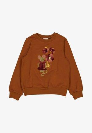 MOUSE TERRY - Sweatshirt - cinnamon