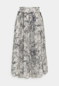 Needle & Thread - TOILE DE JOUY DELPHINE SMOCKED SKIRT EXCLUSIVE - A-line skirt - graphite/champagne - 0