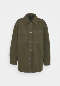 Lindex - JACKET - Summer jacket - dark dusty green - 4