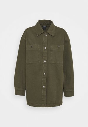 JACKET - Leichte Jacke - dark dusty green