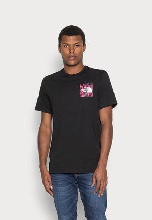 FINE TEE - Camiseta estampada - black