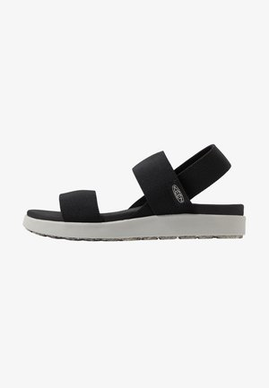 ELLE BACKSTRAP - Walking sandals - black