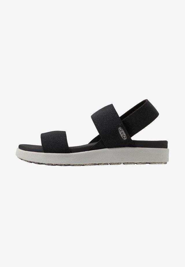 ELLE BACKSTRAP - Walking sandals - black