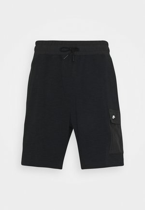 Shorts - black//black oxidized