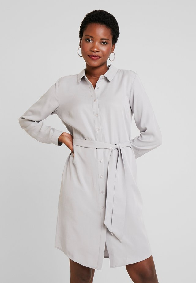 ANNA DRESS - Shirt dress - light grey