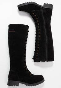 s.Oliver - BOOTS - Lace-up boots - black - 3