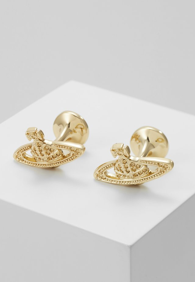 MINI RELIEF CUFFLINKS - Manschettknapp - gold-coloured