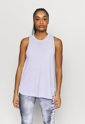 MATERNITY ACTIVE CURVE TANK - Top - chalky lavender