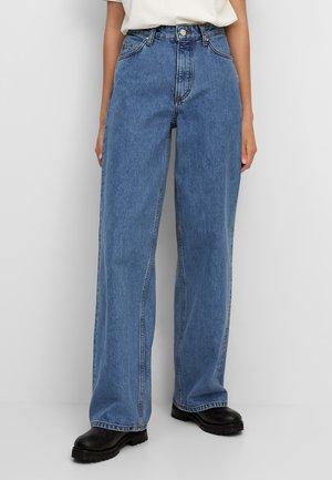TOMMA - Straight leg jeans - multi/dark blue salt 'n pepper