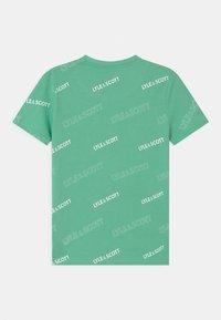 Lyle & Scott - OUTLINE  - Print T-shirt - neptune green - 1