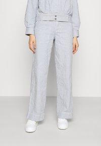 Dedicated - WORKWEAR PANTS - Trousers - blue - 0
