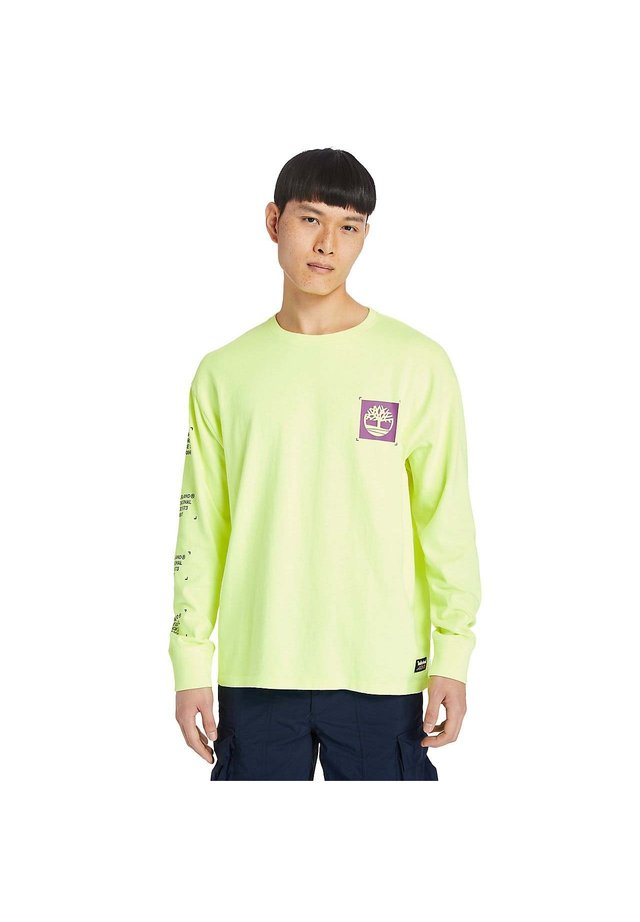 Maglietta a manica lunga - safety yellow