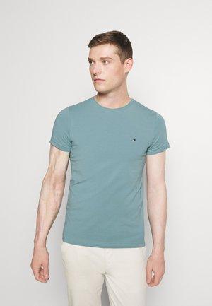 STRETCH SLIM FIT TEE - Basic T-shirt - lofty blue