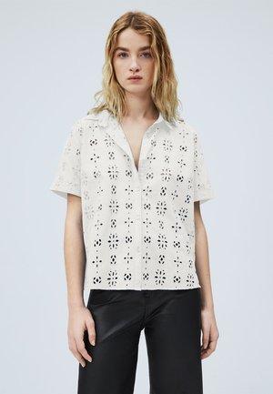 Button-down blouse - blanco off