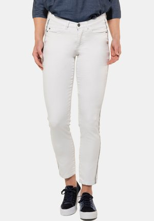 JULIA - Slim fit jeans - weiß