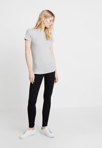 GAP - MOD CREW - Basic T-shirt - heather grey - 1