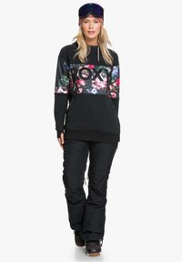 Roxy - LIBERTY HOODIE - Hoodie - true black blooming party - 1